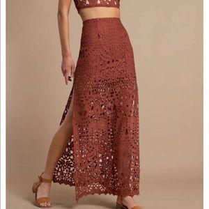 Tobi Lace/Crochet Skirt - never worn